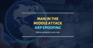 Man In The Middle Attack | ARP Spoofing With arpspoof