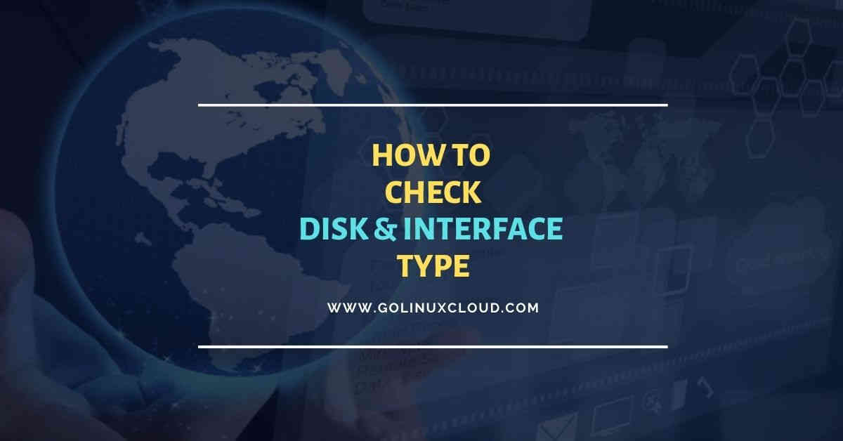 7 easy methods to check disk type (HDD or SSD) in Linux