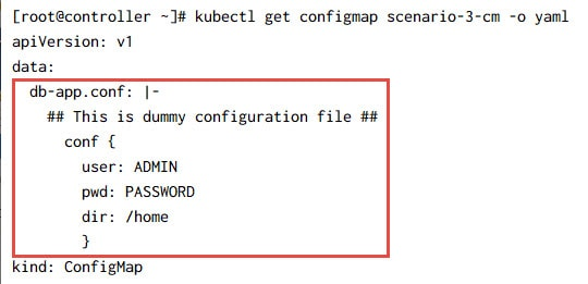 Mount ConfigMap as file in existing directory - K8s