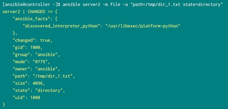 10+ practical examples with Ansible ad-hoc commands