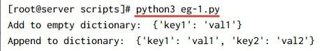 Python add to dictionary examples (7 different methods)