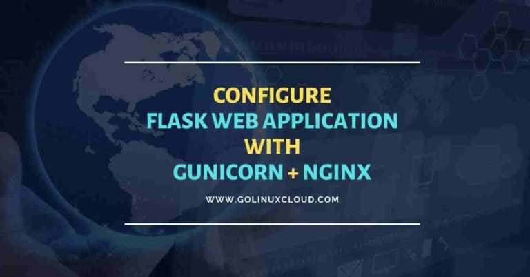 Deploy flask with gunicorn + nginx (Step-by-Step)