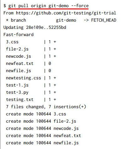 git pull command examples [5 Methods]