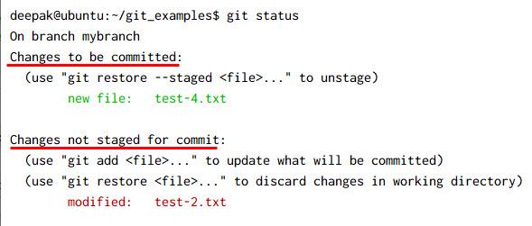 git diff usage explained [Multiple Scenarios]
