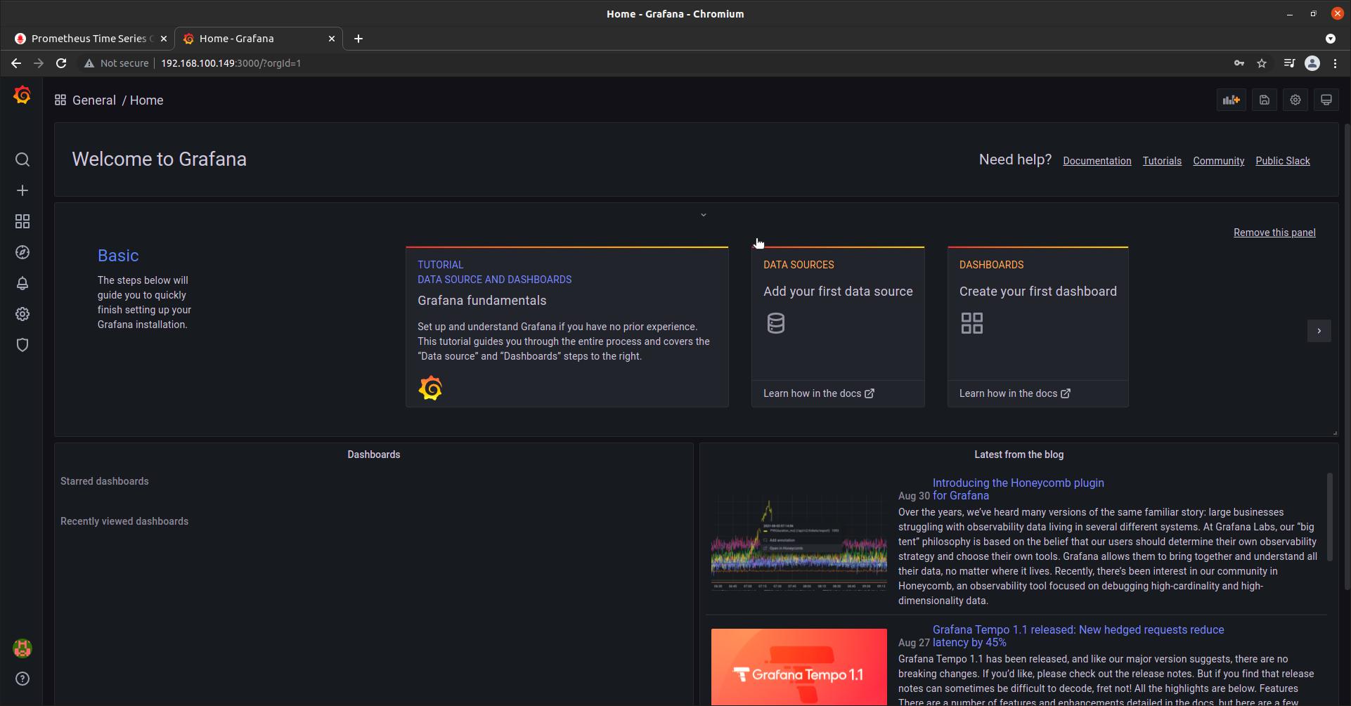 Setup Grafana with Prometheus Rocky Linux 8 [Step-by-Step]