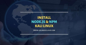 Install Node.js and NPM Kali Linux [Step-by-Step]