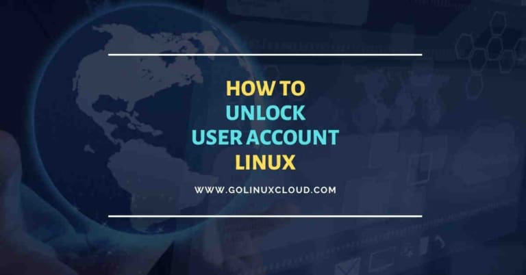 5 effective ways to unlock user account in Linux