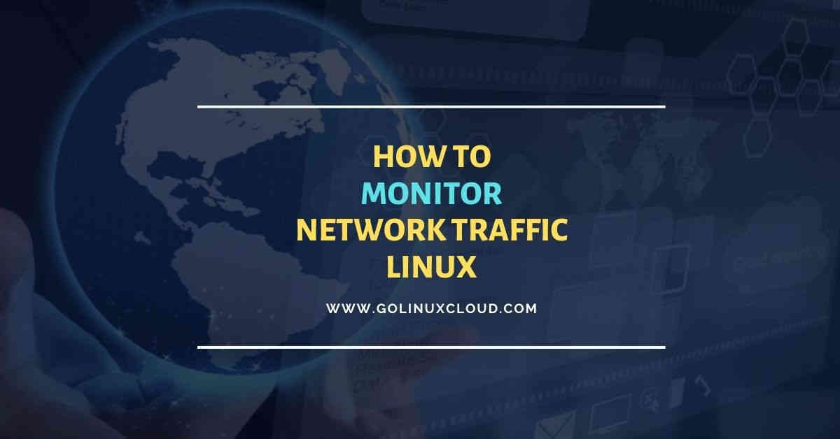 5 system tools to monitor network traffic in Linux with examples
