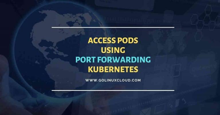kubectl port-forward examples in Kubernetes