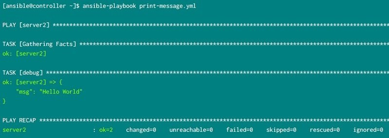 A complete guide to write your first Ansible Playbook