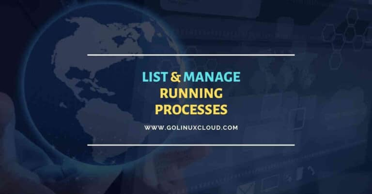 5 practical examples to list running processes in Linux