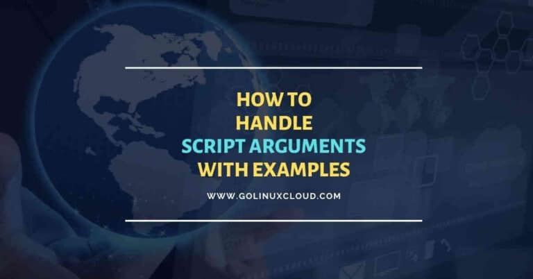 Beginners guide to parse script arguments in bash scripts
