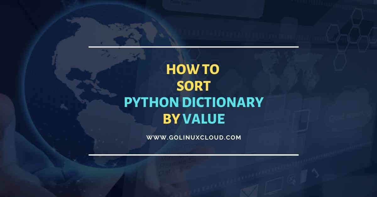 8 simple ways to sort dictionary by value in Python