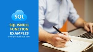 SQL ISNULL Function Explained [Easy Examples]