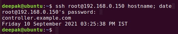 15+ SSH command examples in Linux [access remote nodes]