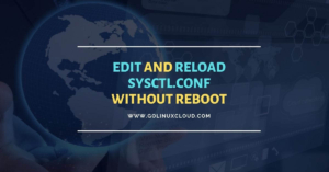 sysctl reload without reboot [100% Working]