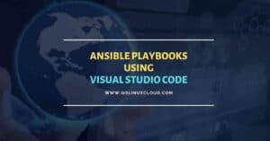 Writing Ansible playbook with Visual Studio Code Editor